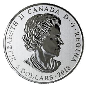 加拿大发行了一款枫叶彩色夜光的纪念币 快来看看吧