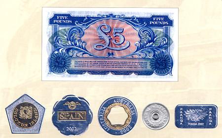 世界货币奇观 异性币