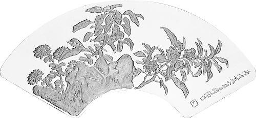 小品的代表作,樱桃树斜伸入画,小鸟倒吊于树端,调皮地扭着头图片
