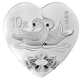 心形银币之《凤求凰》