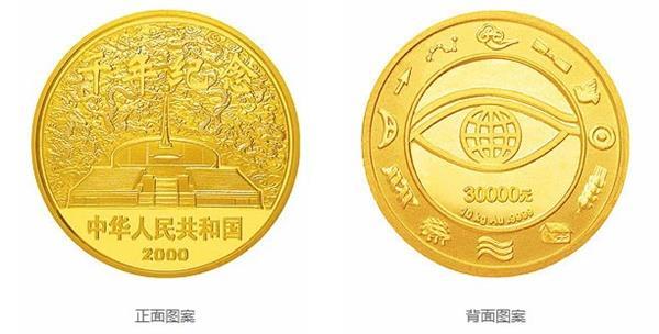我国现代的大金币有哪些